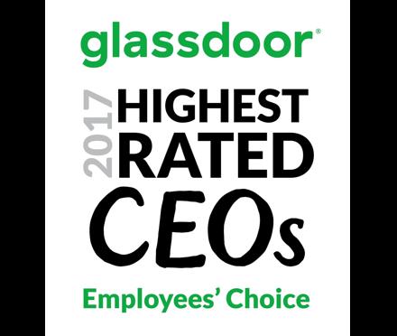 2017 Glassdoor Highest Rated CEO