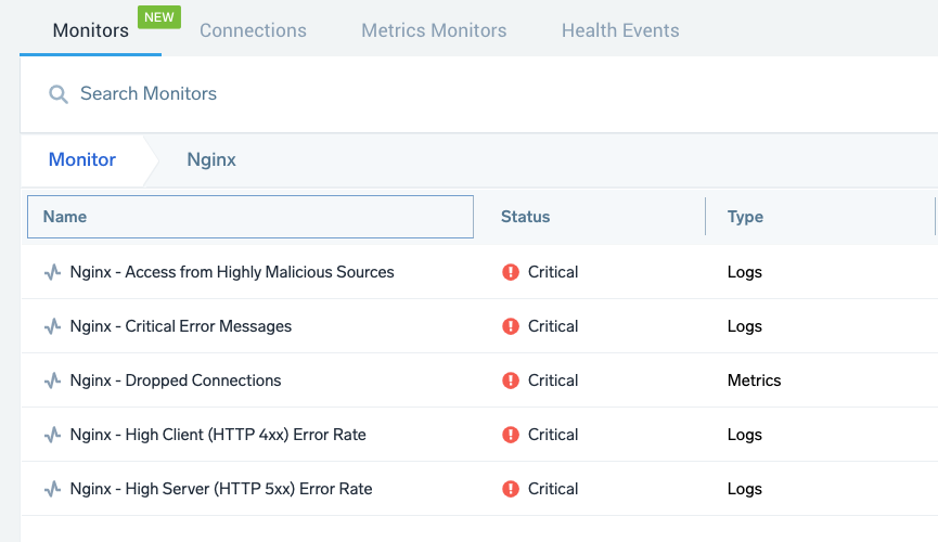New Pre-Packaged Alerts for Nginx and Nginx Ingress
